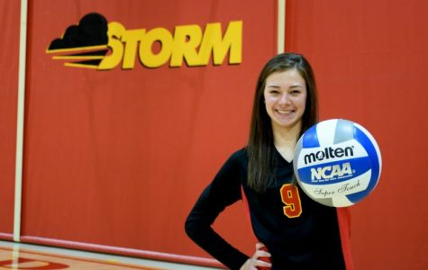 Luth joins Elite Company for Storm volleyball