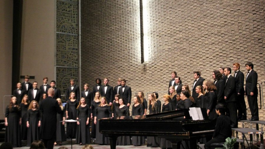 Simpson's vocal music thrives on and off campus