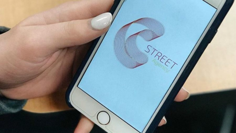 A newly created student-run public relations firm, C Street Agency, gives public relations students the chance to implement their skills in a real-world setting, meaning they're competing for more than just a grade. (Photo: Courtesy of C Street Agency)