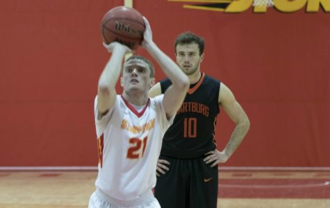 Simpson men's basketball win streak ends at six