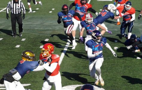 Redmond and Meints compete in the Dream Bowl