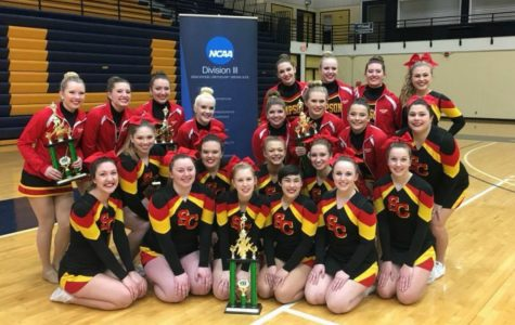 Simpson cheer and dance steal show at first IIAC competition