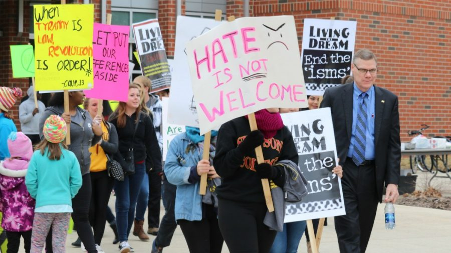 #PressForProgress bodes well for Simpson student activists