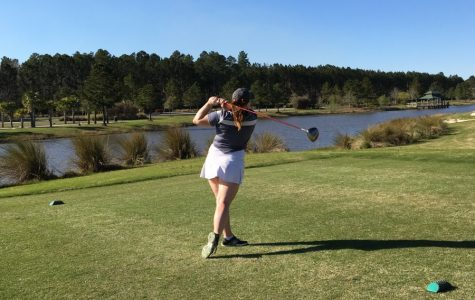 Women's golf team swinging with passion