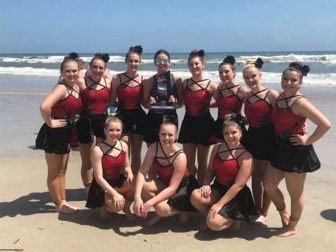 Simpson dance team takes fifth at nationals