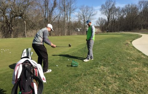 Men's golf team prepping for IIAC Championships