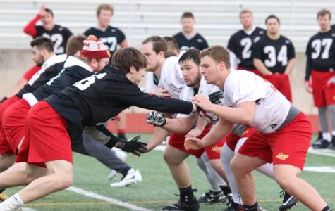 """Storm football hopes to gain """"extra edge"""" during offseason practice"""
