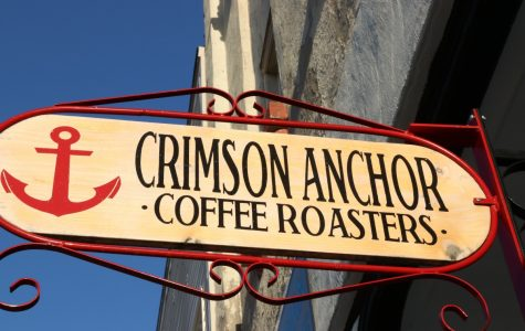 Crimson Anchor coffee shop: roasting fresh since June 2017