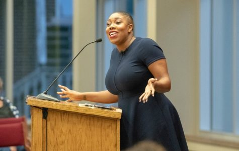 Symone D. Sanders addresses power of young people at Culver Lecture