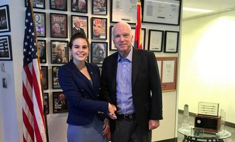 Simpson junior remembers Sen. McCain, reflects on interning with him