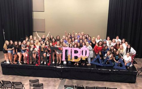 Thirty-two women joined a sorority during recruitment weekend
