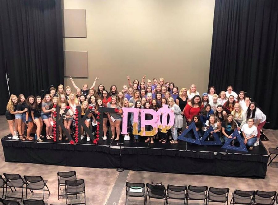 Sorority recruitment has been delayed to Oct. 1 to allow members to grieve.