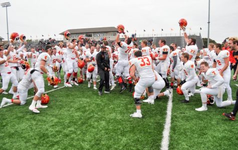 Storm football beats Wartburg in OT