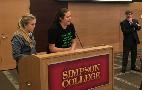 Simpson announces elimination of 13 faculty positions