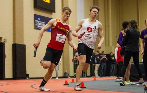 Men's track aims high for outdoor season