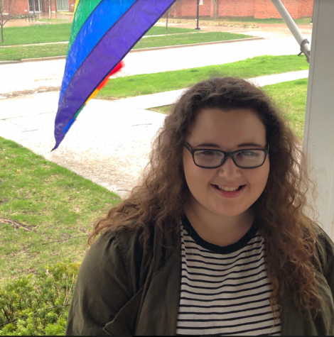 Kaylyn Fisher is a senior graduating in December with a major in health services leadership. She is also the current president of Pride.  Photo submitted by Kaylyn Fisher
