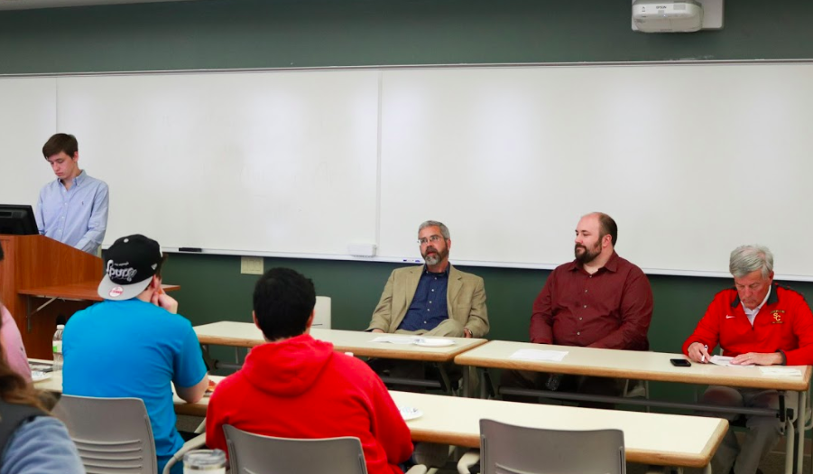 Political parties discuss students' top issues – The Simpsonian
