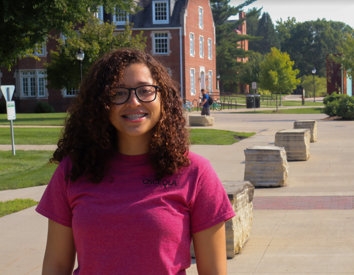 Diana Sagastizado is a first year at Simpson College.