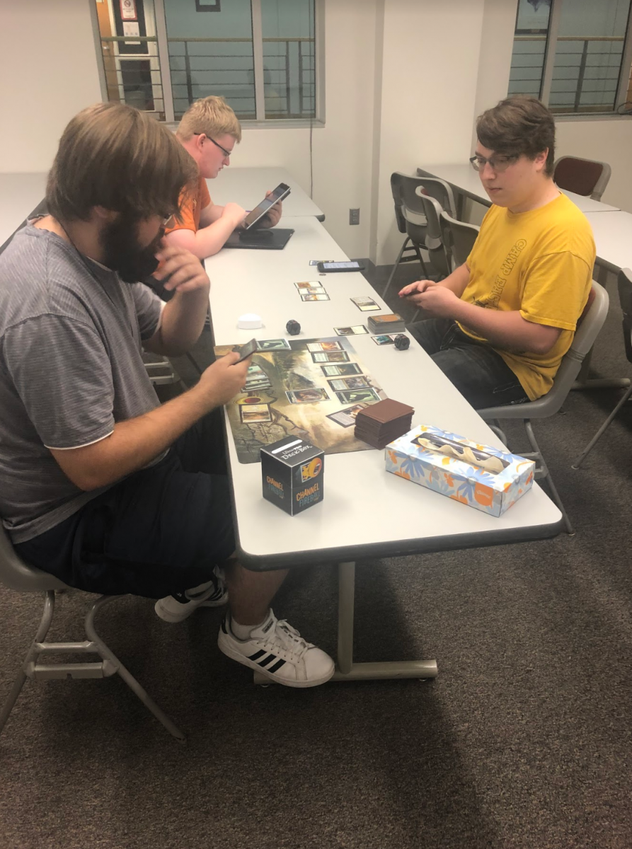 Tabletop Club plays Magic: The Gathering.
