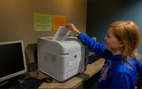 Less paper, less problems: College set to change printing system in October