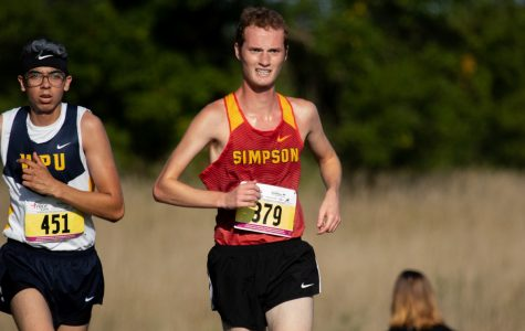 First-place finish a sign of things to come for Simpson XC