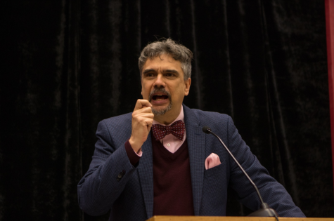 """Resurrecting a Badass Christianity"": De La Torre speaks for Matthew Simpson Lecture"