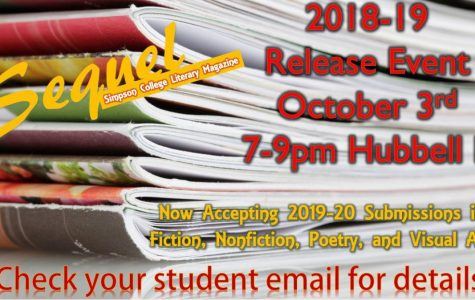 Literary magazine, Sequel, gets ready for its spring publication