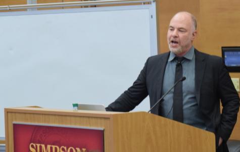 McBride speaker Jackson Katz speaks about gender violence