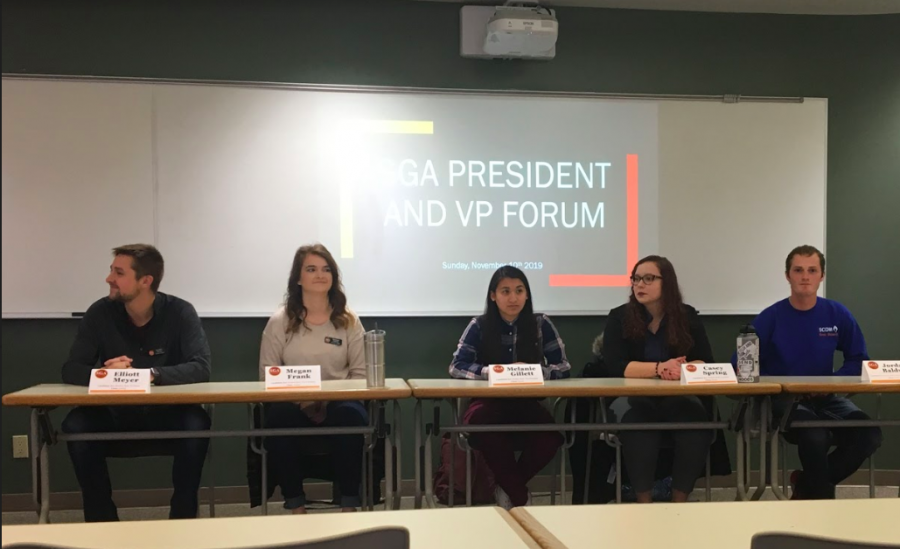 Student Government Association holds candidate forum