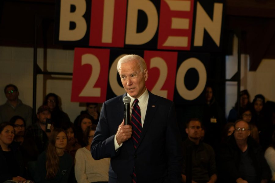 Former vice president Joe Biden visits Simpson College