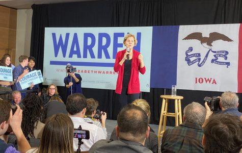 Elizabeth Warren draws massive crowd at Simpson