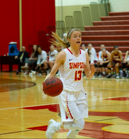 Simpson women drop 109 points in win over Nebraska Wesleyan