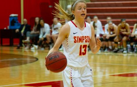 Simpson women drop 109 points in win over Nebraska Wesleyan