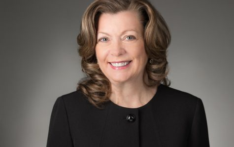 Simpson welcomes Kelliher as first female president