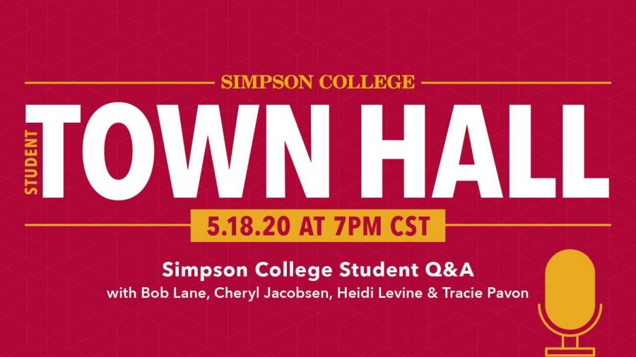 Simpson College hosts town hall about on-campus classes for Fall 2020