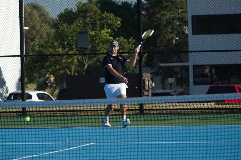 Positive COVID-19 case serves up a challenge for men's tennis