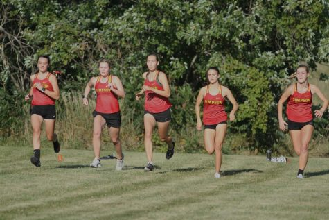 Final meet bears first and second wins for cross-country