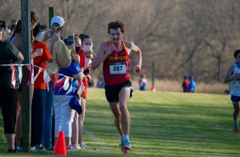 Simpson's cross-country teams place strong in A-R-C Championship