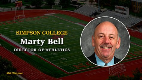 Marty Bell announced as Simpson's new director of athletics