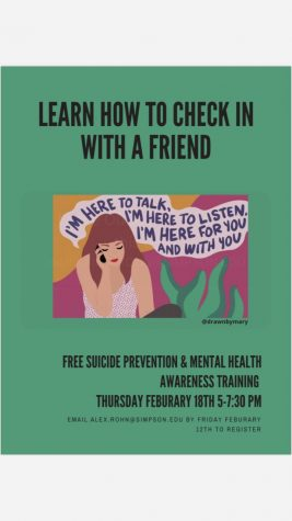 Free Suicide Prevention and Mental Health Awareness Training
