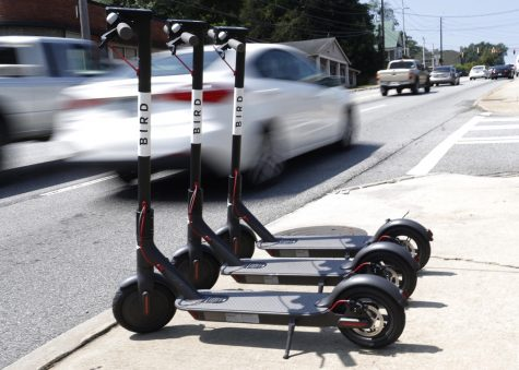 Indianola City Council has been considering bringing e-scooters to town. Photo by Joshua L. Jones, Athens (Georgia) Banner-Herald