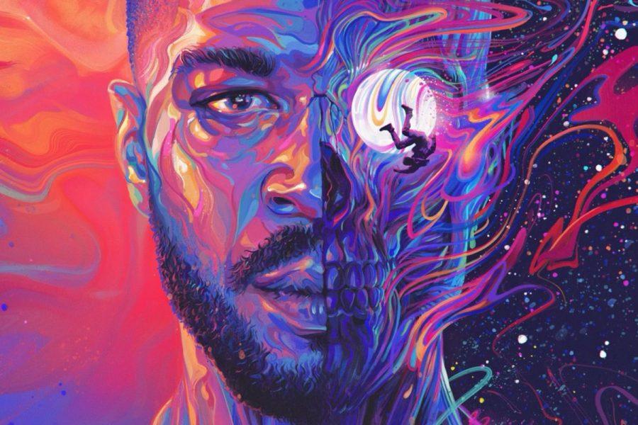 Man On the Moon III: Album Cover