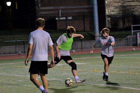 The men's soccer team prepares for their season opener Saturday.