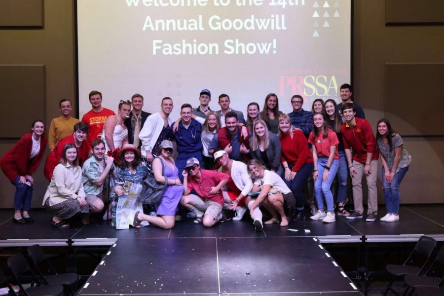 The Goodwill Fashion Show has been a Simpson PRSSA staple since 2004.