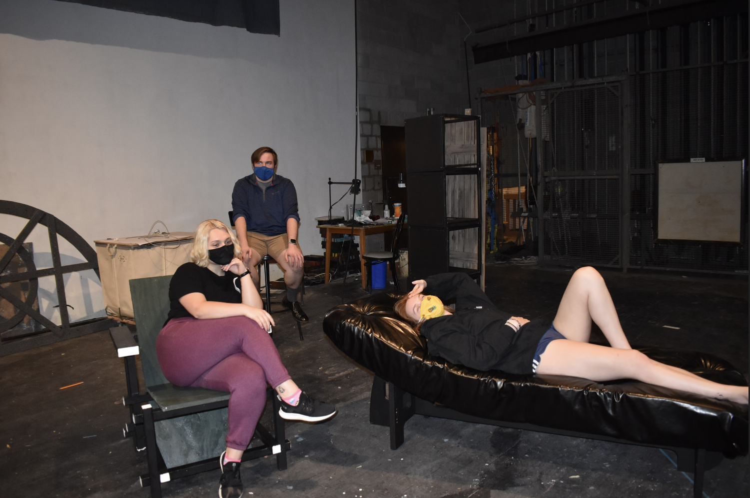 """""""Suppressed Desires"""" is being directed by senior Jack Strub as part of the 2021 Festival of Short Plays."""