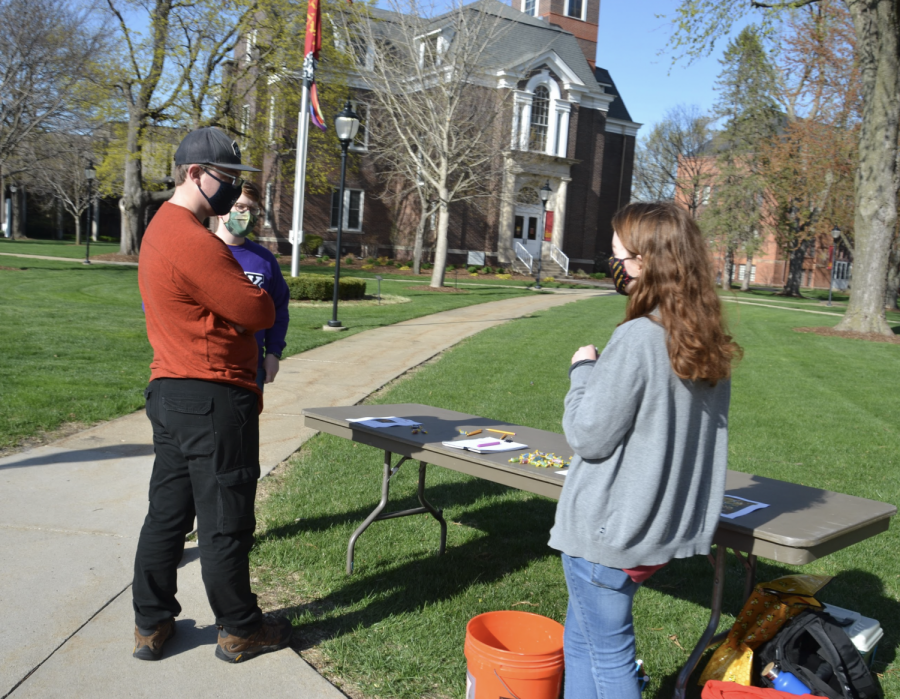 Student activities day took place on April 14 around Simpson's campus.