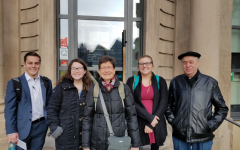 Students traveling abroad to Germany in Spring 2019. Photo submitted to the Simsponian.
