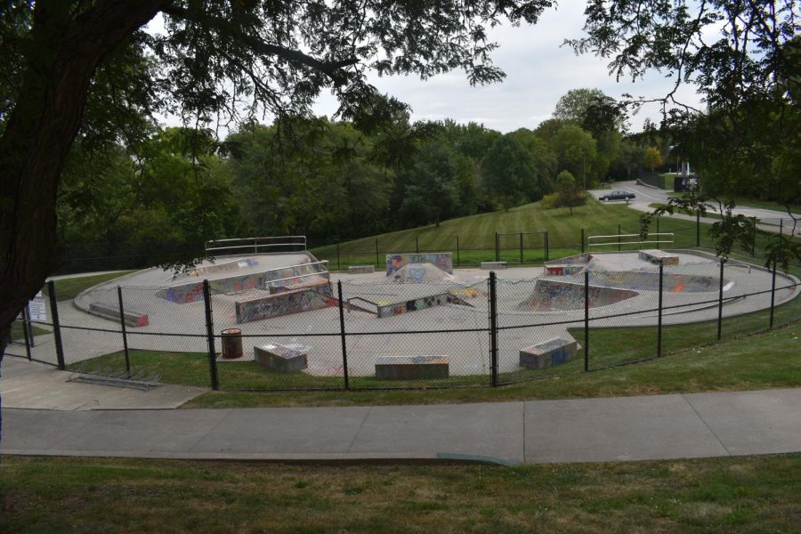 Derogatory language and slurs were found painted on the local skatepark following new policy about graffiti.