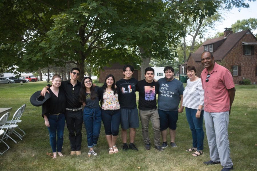 The annual multicultural BBQ brings together students of all cultures, backgrounds, and demographics.