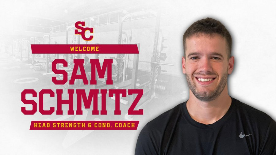 Simpson recently hired Sam Schmitz as the head coach of strength and conditioning.